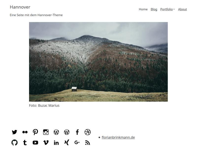 Abbildung 8: Screenshot des Themes, der im Backend und im Theme-Verzeichnis angezeigt wird